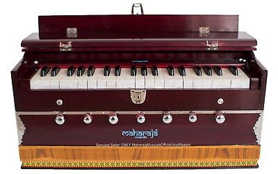 HARMONIUM No.5200m/MAHARAJA/3¼ OCTAVE/MULTI-BELLOW/7 STOP/COUPLER/PIANO/DB-1