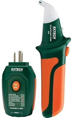 Circuit Breaker Finder/Receptacle Tester Quickly Locate Automatic Sensitivity