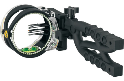 Trophy Ridge - Cypher 5 Pin Bow Sight - Left or Right Handed - Tool-less