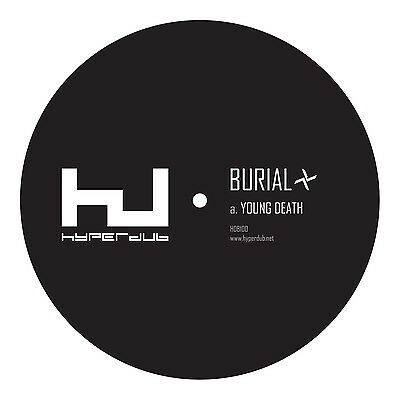 "Burial - Young Death / Nightmarket - 12"" - Sealed - Hyperdub"