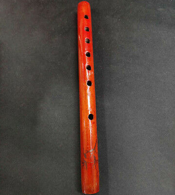 Traditional 6 Hole Bamboo Flute Clarinet Student Musical Instrument Wood BDAU