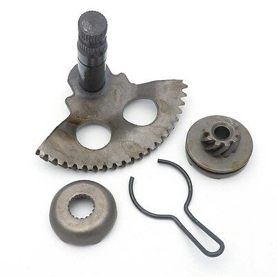 Kick Start Starter + Shaft Pinion Gear for JOG 1PE40QMB Minarelli 50cc 2 Scooter