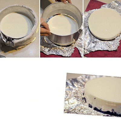Adjustable Stainless Steel Mousse Ring Cake Pan Baking Decorating Kitchen Mould