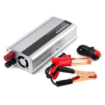 1500W Car DC 12V to AC 220V Power Inverter Charger Converter for Electronic OS