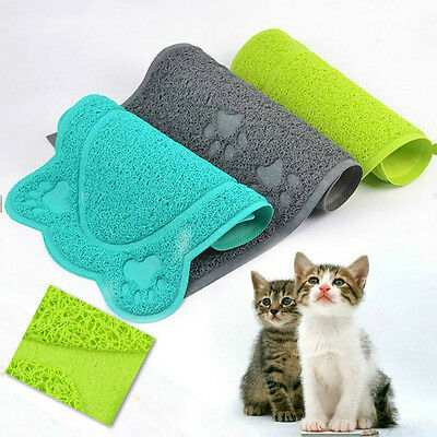 Different Shapes Mat Cat Litter Pet PVP Random Color Soft New Lovely Cute 0