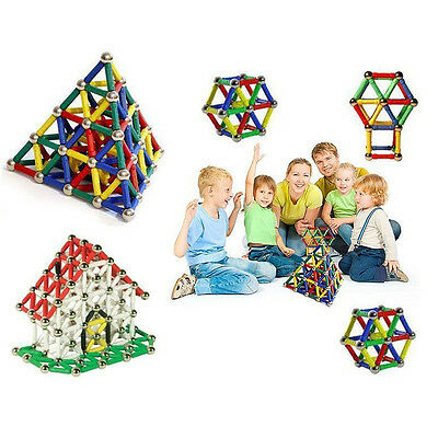 157pcs DIY Three Dimensional Building Block Magnetic Baby Early Educational Toys