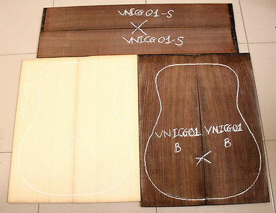 Solid spruce top A Indian rosewood,set for making guitar,beautiful grain VNISG01