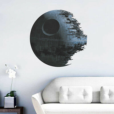 3D Creative Wall Papers Star Wars Death Star Wall Stickers Home Decoration