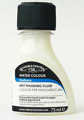 Winsor & Newton Art Masking Fluid for Watercolour Painting 75ml