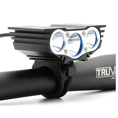 6600lm Bicycle Light Bike Cycling Lamp LED Headlamp Front Head Torch for Outdoor