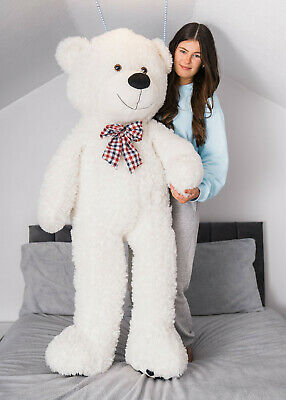 Xxl Extra Large Lion Teddy Bear Giant Jumbo Big Plush Toy Stuffed Cuddly Animal