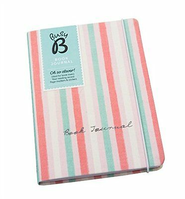 Busy B Fabric Book Journal - perfect gift for bookworms! Sections for book club