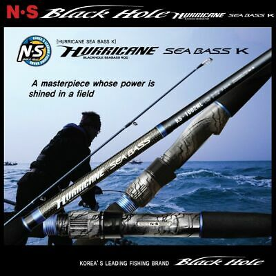Ns Rods Black Hole Hurricane Seabass K Quide