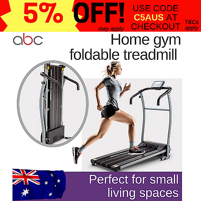 Treadmill Exercise Equipment Fitness Home Gym foldable electric HPF luxury LED