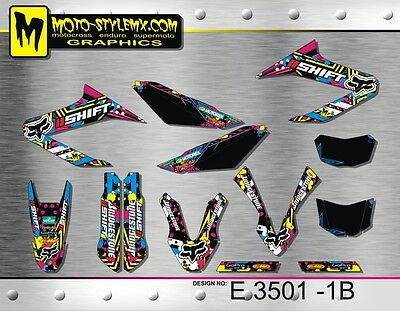 Moto StyleMX Yamaha graphics decals kit WR 125 R&X  2009 up to 2014 stickers