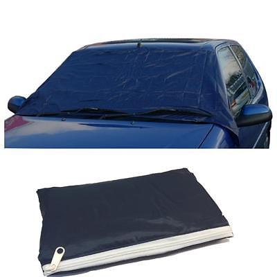 Universal Car Windscreen Cover Frost Anti Ice Shield Snow Protector +Storage Bag