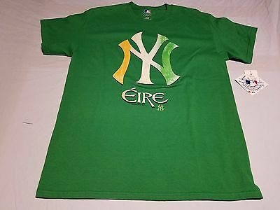 NEW YORK YANKEES Saint Patrick s Day Eire MLB Men s T-shirt Size M ... 9684be9ceaa