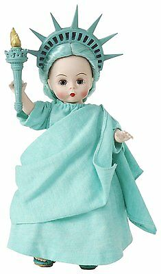 Miss Liberty  8'' Madame Alexander Doll new NRFB