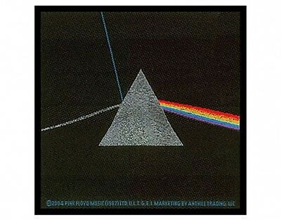 PINK FLOYD dark side of the moon WOVEN SEW ON PATCH official merchandise