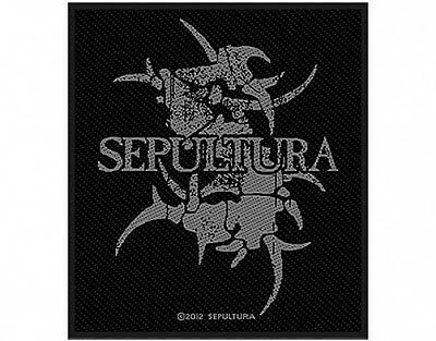 SEPULTURA logo 2014 - WOVEN SEW ON PATCH official merchandise