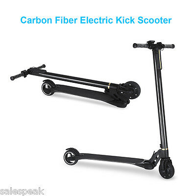 2Roues Mini Trottinette Electrique Pliable Scooter Kickboard Cool LED 250W Adult