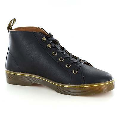 Dr Martens Coburg Mens Leather Lace-To-Toe Boots Black