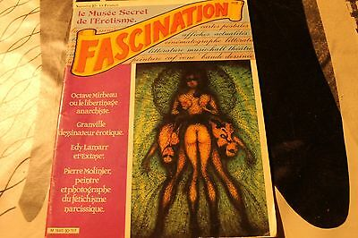 Revue  Erotique  Fascination  Le Musee Secret De L'erotisme  N° 10