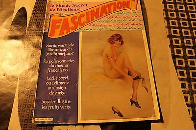 Revue  Erotique  Fascination  Le Musee Secret De L'erotisme  N°12