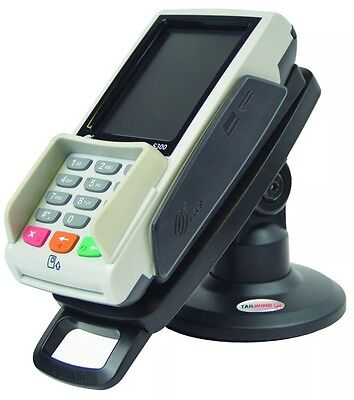 """PAX S300 3"""" Compact Pole Mount Terminal Stand Pin Pad POS Credit Card Holder"""