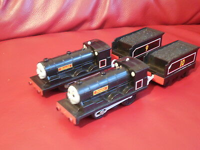 tomy trackmaster thomas the tank engine battery trains donald and douglas