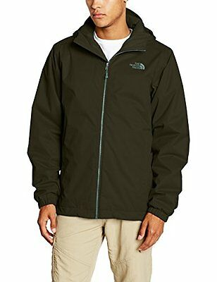 North Face M Quest Insulated Giacca a Isolamento Termico, Verde/Rosin Green, XXL
