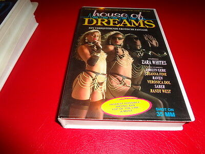 House of Dreams - Vhs - Zara Whites,  Jeanna Fine,  Raven