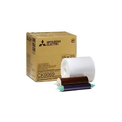Mitsubishi Electric CK9069 Carta + Ribbon per 270 Stampe 15x23