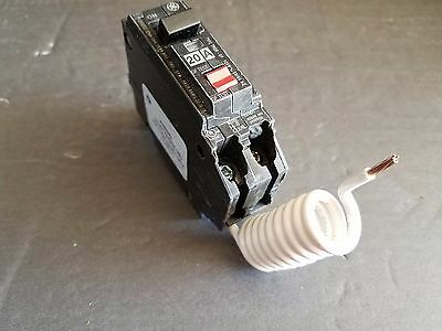NEW GENERAL ELECTRIC THQB1120GFT 1P 20A 120V GFIC Panel Take Out