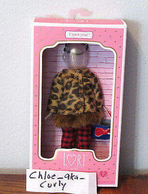 """Our Generation Lori 6"""" Doll Outfit I SPOT YOU Faux Leopard Coat Purse Shoes NEW!"""