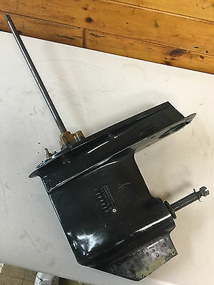 """89 Mariner 55 Hp 2 Stroke 2 Cyl Outboard 20 """" Shaft Lower Unit Freshwater MN"""