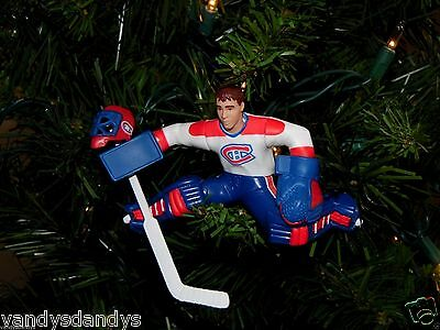 patrick ROY montreal CANADIENS hockey NHL xmas TREE ornament HOLIDAY jersey #33