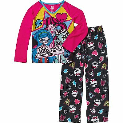 Girls Monster High 2pc Monster Exchange Pajama Set Brand New with Tags! Size 4/5