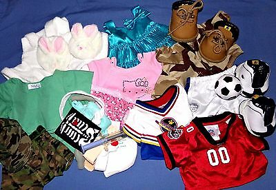 Build a Bear 33 Outfits for BABW Assorted Clothes Themes U Pick & We Ship Quick