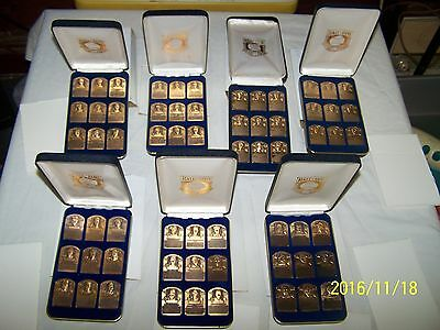 National Baseball Hall Of Fame Gallery Collection Bronze Plaques - Series 1-7 !