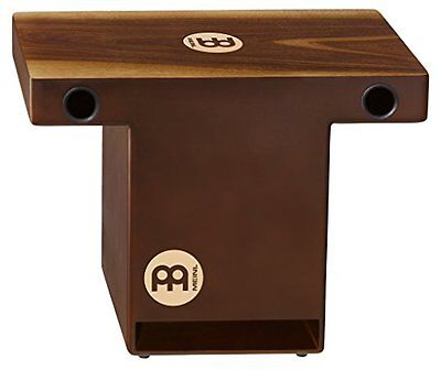 Meinl Percussion TOPCAJ2WN - Cajon Slap-Top con piastra frontale in noce