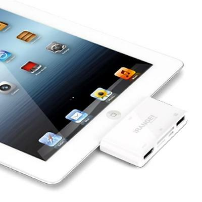 LASER iRANGE CONNECT-IT-ALL 5 IN 1 HDMI OUTPUT Card Reader for iPad iPhone iPod