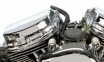 Xzotic Chrome Panhead-Style Rocker Boxes For Harley Twin Cam 1999-2014 #696970