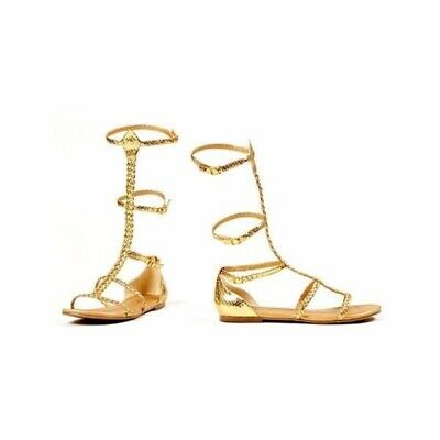 Womens Egyptian And Greek Gold Sandals