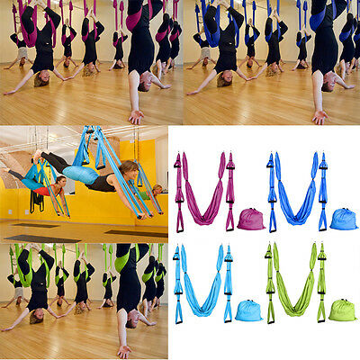Large Bearing Yoga Swing Sling Hammock Trapeze For Joyful Yoga Inversion Tool