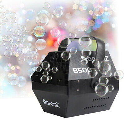 60W Electric Bubble Blower Machine High Output DJ Disco Club Childrens Party