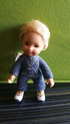 Only Hearts Club Li'l Kids Trevor Doll,very Rare Collectible