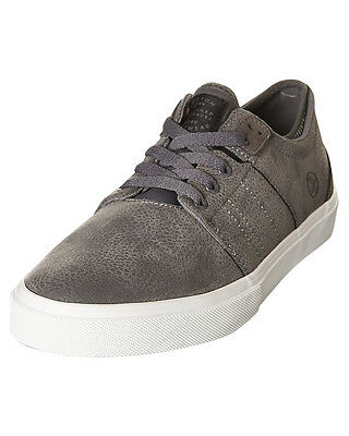 Kustom Scape Grey Vulc Leather Casual Shoes. Size 12 - 13. NIB, RRP $99.99.