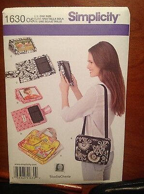 simpliicity #1630 sewing pattren cover carry matching tots  brand new uncut