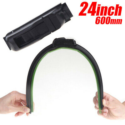 24inch Universal U-Type Frameless Bracketless Rubber Auto Windshield Wiper Blade